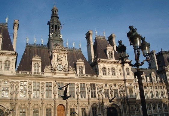 L'Hôtel de Ville de Paris - Photo : VD.