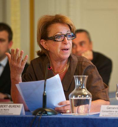 Chantal Lambert-Burens, adjointe chargée de la petite enfance et des relations avec les conseils de quartier - Photo : Stan Sniper-press.com