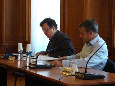Louis Lefèvre-Utile et Pierre Dubreuil, élus de l'opposition d'arrondissement - Photo : VD.