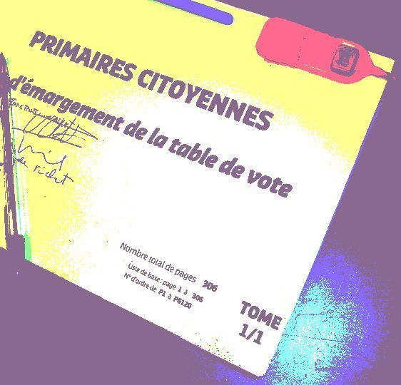 9 - 16 octobre 2011 : Primaires socialistes à Paris pour 2012.