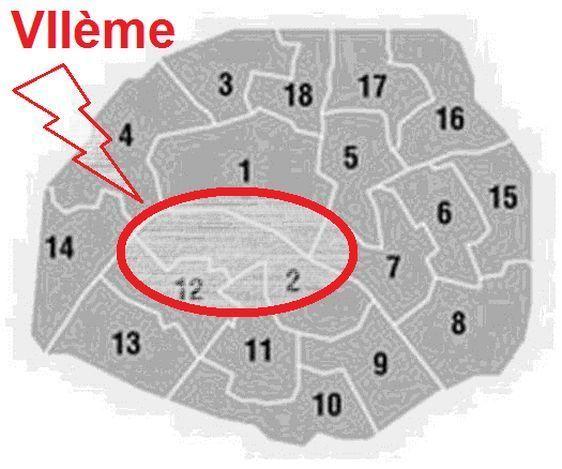 La nouvelle circonscription n'inclut plus le 7e arrondissement dans sa totalité. Le 7e est à cheval sur la 2e et la 12e circonscription.