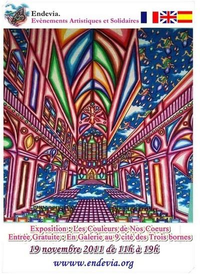 Exposition : Les couleurs de nos cœurs à Paris