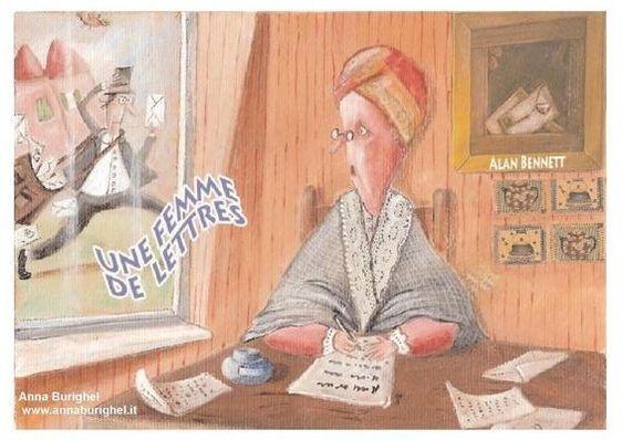 6, 13 et 20 novembre 2011 : Une femme de lettres aux Cariatides
