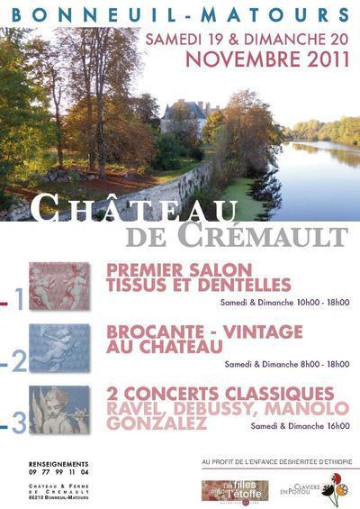 19 et 20 novembre 2011 : Festival des claviers en Poitou
