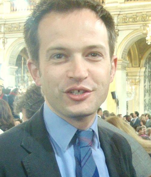 Pierre-Yves Bournazel à la visite du Chef de l'Etat à l'Hôtel de Ville de Paris - Photo : VD.