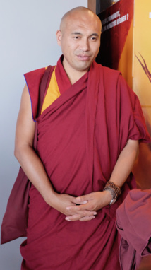 Gueshé Losang Tenzin © VD/PT