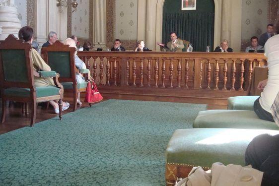 Le précédent conseil d'arrondissement le 3 octobre 2011 - Photo : VD.
