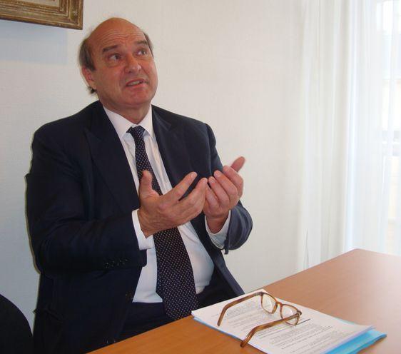 Le sénateur conseiller de Paris Yves Pozzo di Borgo - Photo : VD.