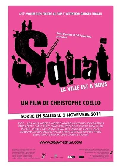 (c) Squat - la ville est à nous ! de Christophe Coello.