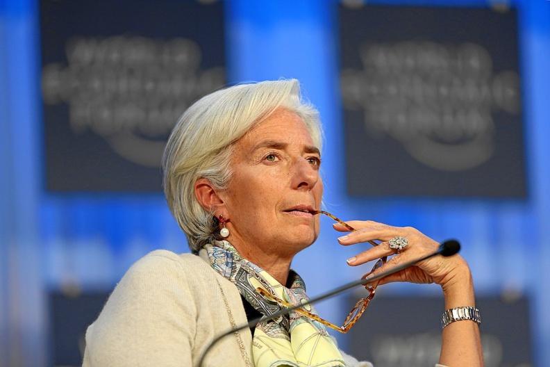 Christine Lagarde au Forum économique de Davos - Suisse en 2013 © CC-BY SA 2.0