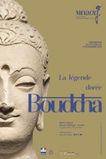 Buddha, the Golden Legend, at Guimet Museum, Paris 16e arrondissement.
