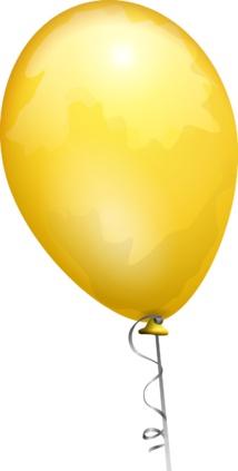 Les ballons jaunes éclatés par les forces de l'ordre avant le début du défilé du 14 juillet sur les Champs-Elysées.