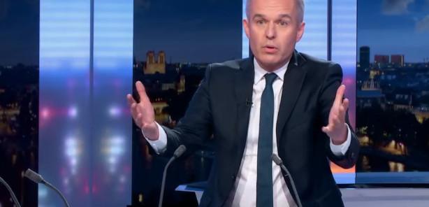 """François de Rugy au JT de 20 heures sur France 2 : """"Je suis un homme blanchi"""" © capture d'écran."""
