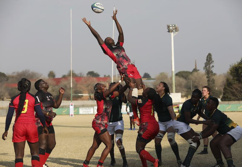 Rugby World Cup African Qualifiers - South Africa defeated Uganda on Friday 9th of August in Johannesburg during the 2019 Rugby Africa Gold Cup © Rugby Africa