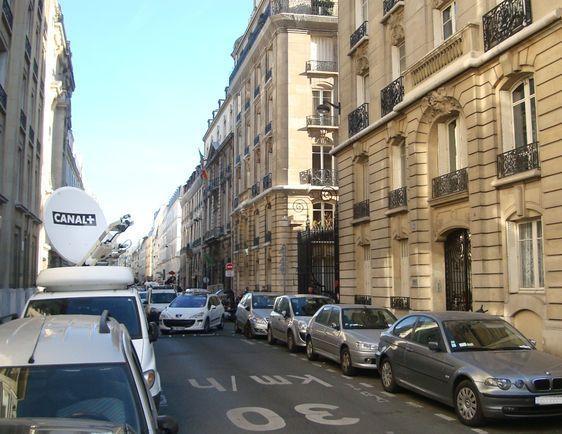 La rue du Cherche-Midi dans le quartier Saint-Placide le 16 janvier 2012 - Photo : VD.