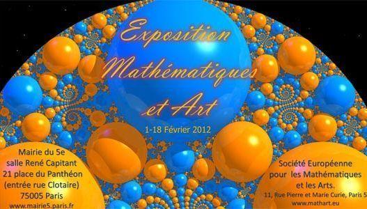 (c) Exposition Mathématiques et Arts.