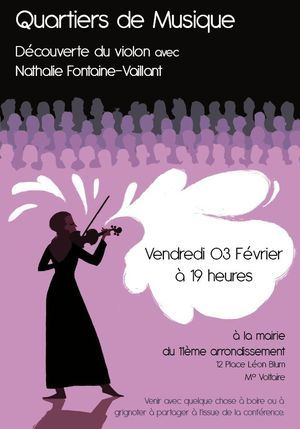 3 février 2012 : Quartiers de musique avec Nathalie Fontaine-Vaillant