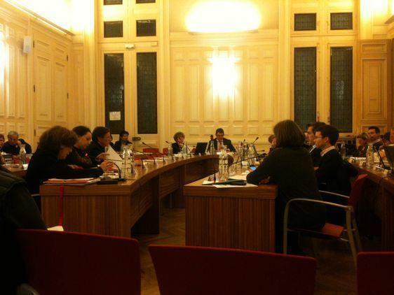Les élus réunis en conseil le jeudi 26 janvier 2012 - Photo : GB.