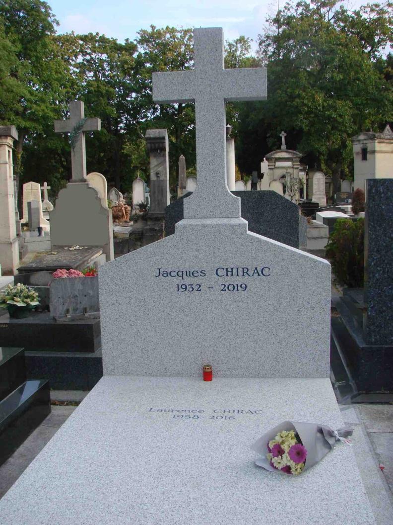 Jacques Chirac 1932 - 2019 © PT