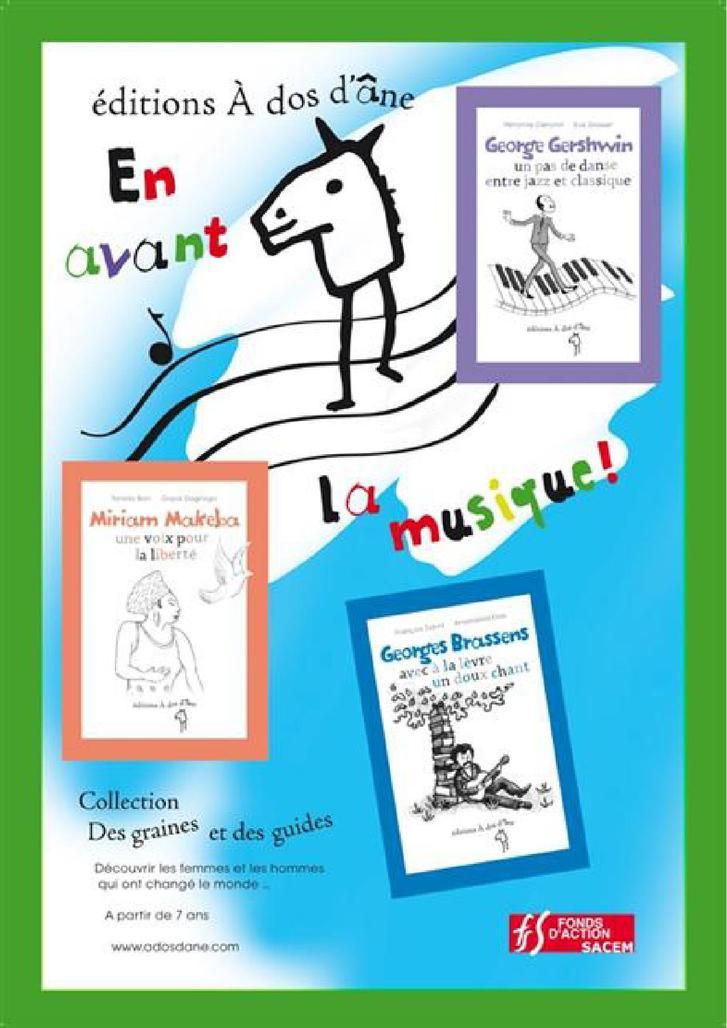 14 mars 2012 : Spectacle pour petits et grands Georges Brassens et George Gershwin