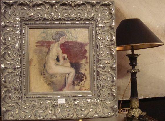 Le Nu assis de Edouard Vuillard, adjugé 40 000 euros - Photo : VD.