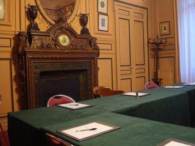 Avant le conseil d'arrondissement - Photo : VD.