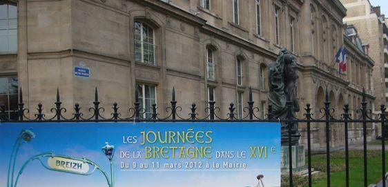 La mairie du 16e arrondissement organise des Journées, ici celles pour la Bretagne - Photo : VD.