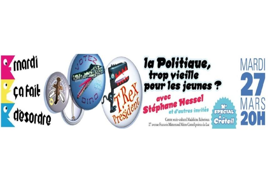 """27 mars 2012 : Projection du film """"Reporter citoyen"""" avec Philippe Merlant et Stéphane Hessel à Créteil"""
