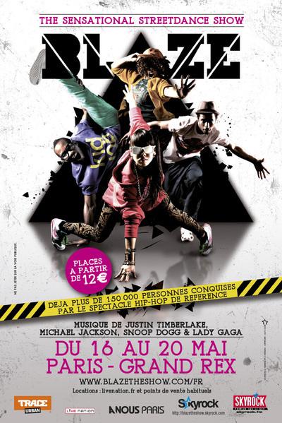 16 - 20 mai 2012 : Street Dance Show au Grand Rex