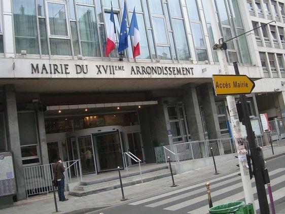 La mairie du 17e arrondissement de Paris - Photo : VD.