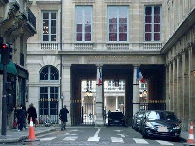 Le conseil constitutionnel de la République française - Photo : VD.