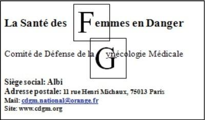 Suivi gynécologique des femmes : 5 candidats sur 10 répondent par écrit au CDGM