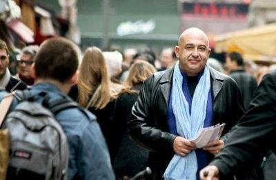 Philippe Péjo dans la 11e circonscription de Paris - Photo : PA.