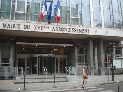 La mairie du 17e arrondissement de Paris.