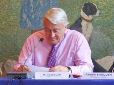 Claude Goasguen attend l'implantation du CNE avec ferveur - Photo : GB.