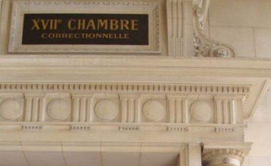 La 17e Chambre correctionnelle du Tribunal de grande instance de Paris - Photo : VD.