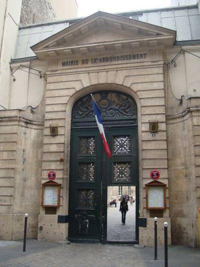 Mairie du 9e arrondissement : le précédent conseil du 9e arrondissement s'est tenu le 7 mai 2012 - Photo : VD.