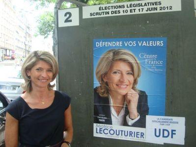 Béatrice Lecouturier - Photo : VD.