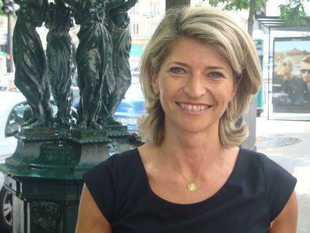 Béatrice Lecouturier à Paris - Photo : VD.
