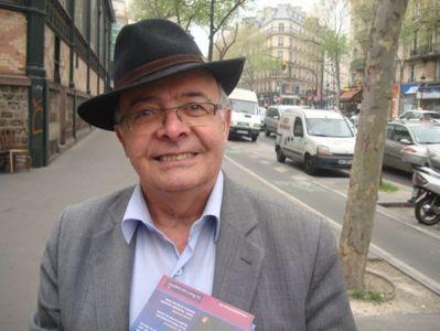 Bernard Atlan en renfort dans les circonscriptions où Le Parti des Libertés présente des candidats, ici dans la 5e circonscription, dans le 10e  arrondissement - Photo : VD.