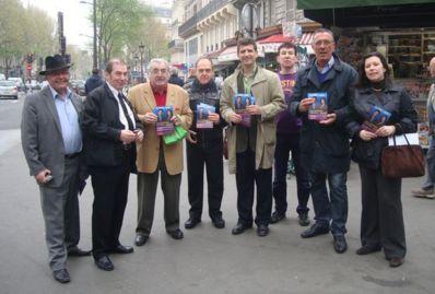 Bernard Atlan en renfort dans les circonscriptionLe Parti des Libertés présente des candidats, ici dans la 5e circonscription, dans le 10e  arrondissement - Photo : VD.