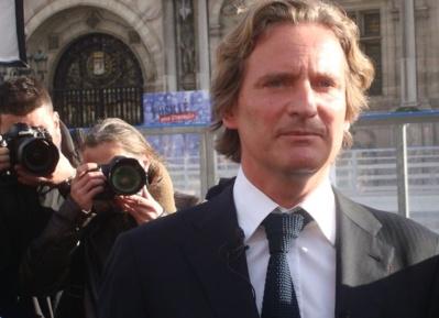 Charles Beigbeder lance le 7 janvier 2014 Paris Libéré - Photo : VD.