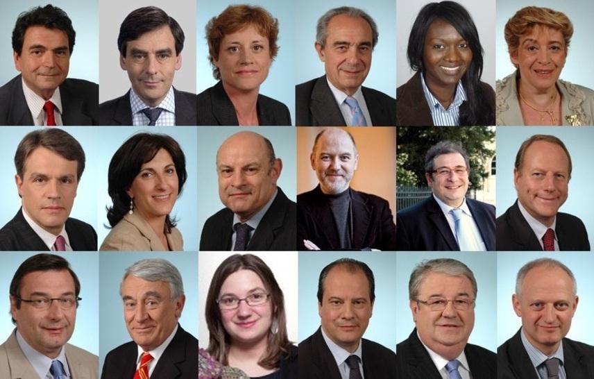 Députés de Paris de la XIVe législature 2012 - 2017 (c) Paris Tribune.info