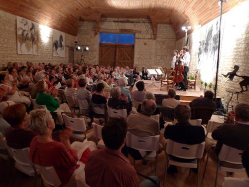 (c) Festival de musique de chambre à Ormes - DR.