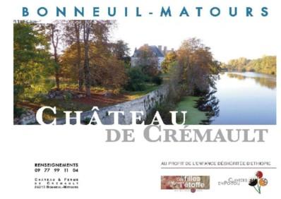 """Juillet - septembre 2012 : Programme des Concerts """"Les Claviers en Poitou"""" à Bonneuil-Matours"""
