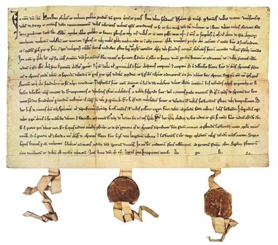 Le Pacte fédéral rédigé en latin - 1291.