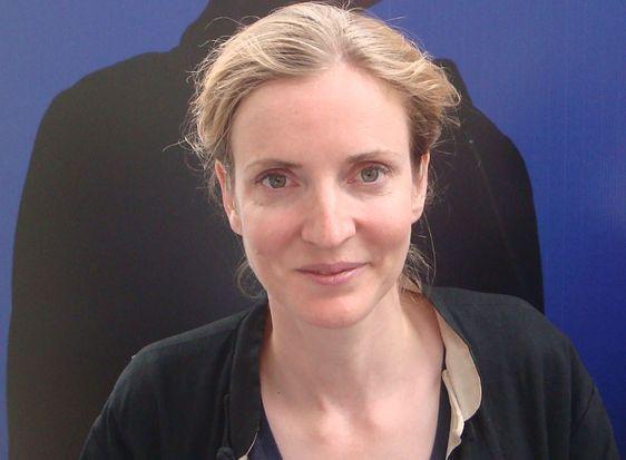 Nathalie Kosciusko-Morizet lance sa campagne à Paris pour la présidence de l'UMP en août 2012 - Photo : VD.