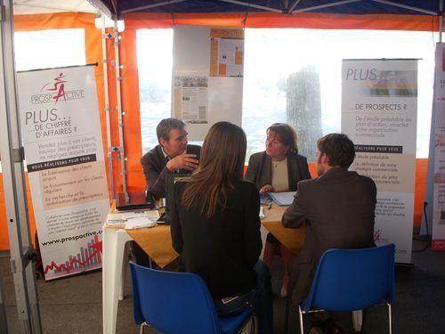 Etape de Vincennes (c) Blog de la caravane des entrepreneurs.