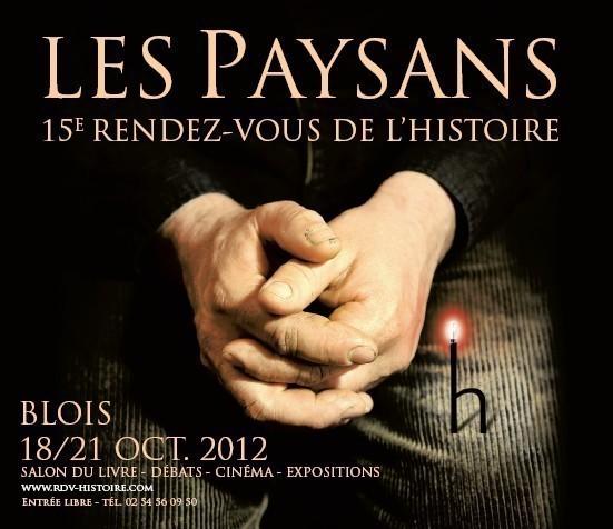 15e Rendez-Vous de l'Histoire de Blois : Les Paysans.