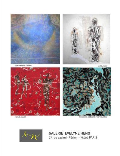 """Jusqu'au 22 septembre 2012 : Exposition de peintures """"Lueurs, signes, traces"""""""